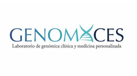 Logo Laboratorio de genómica clínica y medicina personalizada - GENOMACES