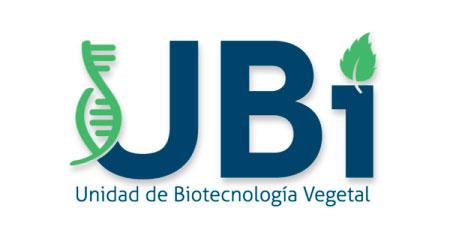 Logo Unidad de Biotecnología Vegetal - UBI