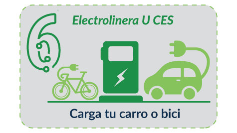 Step 6 - If you have a car or electric bike, use the electric station