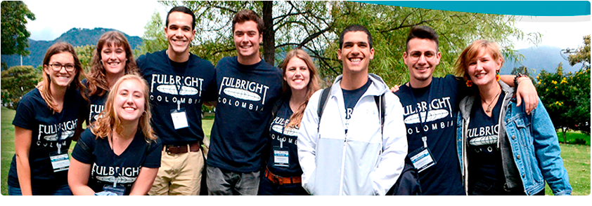 Foto estudiantes becados por Fulbright Colombia