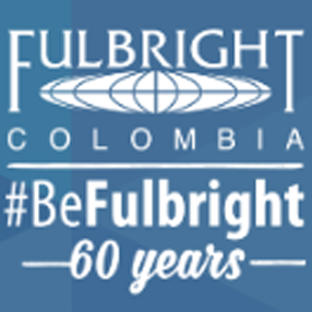 Logo Fulbright Colombia - 60 años