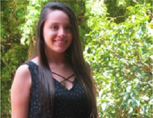 Foto de Pamela Ramírez, estudiante de Odontología