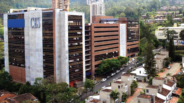 Foto aérea del Edificio B - Bienestar