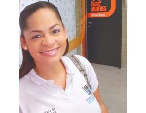 Foto Narda Coutin, egresada del programa de salud mental