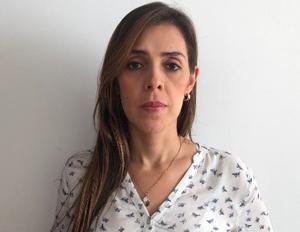 Foto Ana Carolina Pérez, Estudiante de la Especialización en promoción y comunicación para la salud