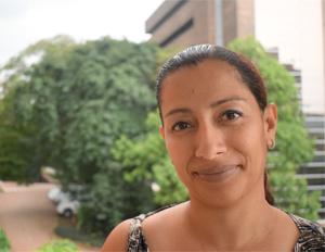 Foto Jhohana hernández, estudiante de la especialización en enurodesarrollo y aprendizaje