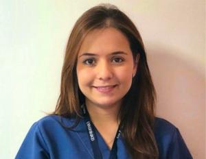 Foto Juliana Valencia, estudiante de la Especialización en promoción y comunicación para la salud
