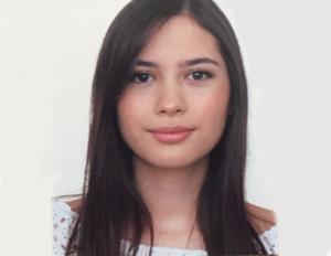 Foto Natalia guzmán, estudiante de la especialización en Epidemiología