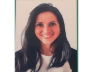 Photo Ana María Bueno, graduated from the master's degree in Drug Addiction