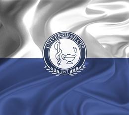 Imagen de la bandera de la Universidad CES