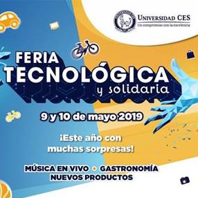 Invitación a la Feria Tecnológica y Solidaria