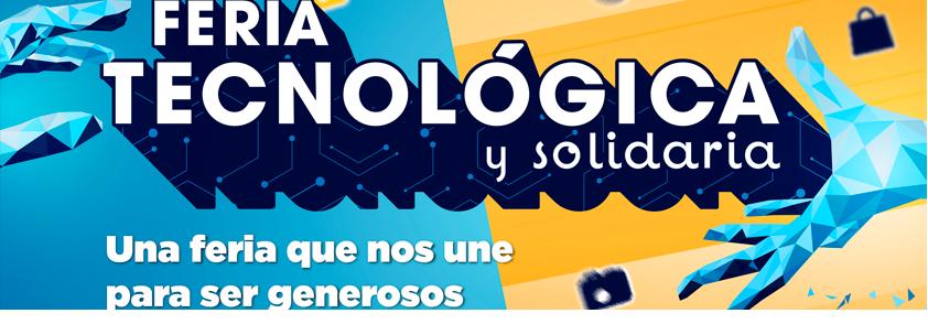 Pieza publicitaria de la Feria Tecnológica y Solidaria de la Universidad CES