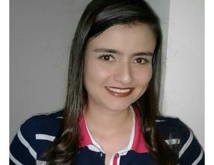 Photograph of Lina Ximena López, student of the specialization in child and adolescent mental health