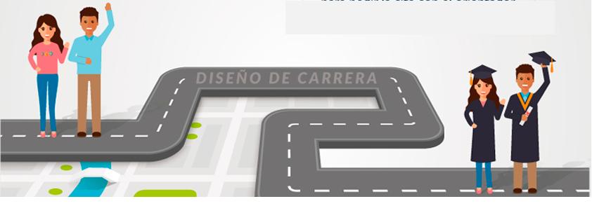Pieza gráfica de 'Diseño de Carrera'