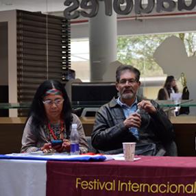 Fotografía de los poetas del Festival del año 2018