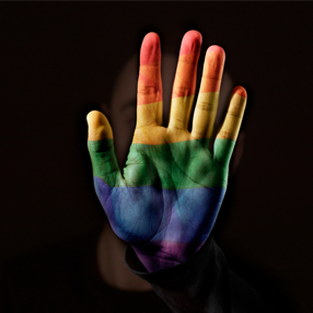 Commemorative image of the LGBTI Community