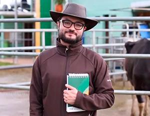 Fotografía de Ariel Tarazona, estudiante de la maestría en salud y producción bovina