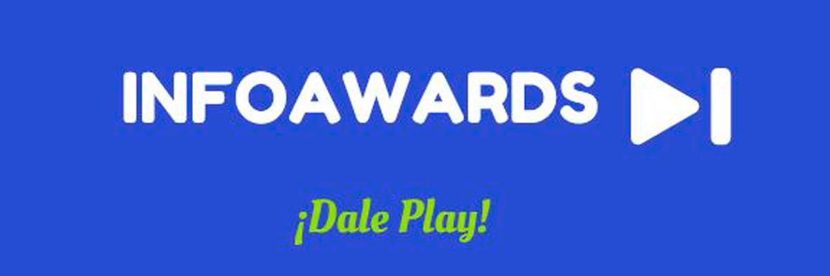 Pieza gráfica de los premios Infoawards
