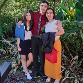 Graduation photo Juan Carlos Villadiego