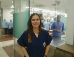 Photograph of Mary Luz Velasquez Velasquez Maxillofacial Surgery Teacher
