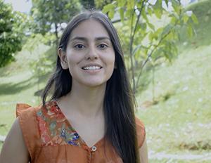 Fotografía de Ana Villamizar, estudiante de Biologia