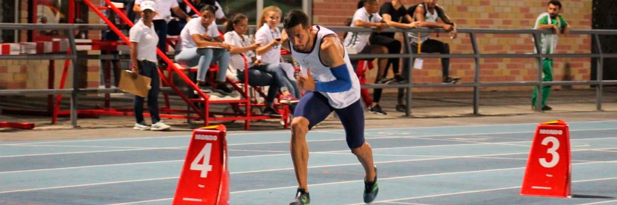 Miguel Angel en competencia