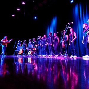 Fotografía del grupo de coro voCES