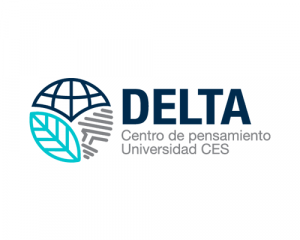 Logo of the DELTA Thought Center of CES University