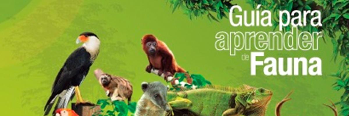 portada de la guía de fauna de Corantioquia y la Universidad CES