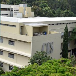 Fachada de la universidad CES