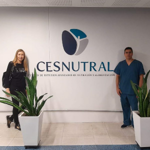 Photo- Nutritionist from FC Barcelona in Spain visited CESNUTRAL