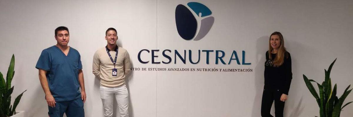 Foto- Nutrióloga del FC Barcelona de España visitó CESNUTRAL