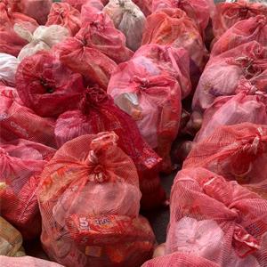imagen de mercados listos para ser entregados a vendedores ambulantes