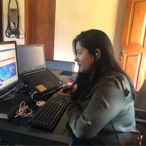 Foografía de usuario en clases gratuitas sobre Covid-19 dirigidas por la Alcaldía de Medellín