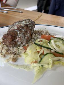 Fotografía de plato menú Árabe del restaurante N Cocina y Nutrición