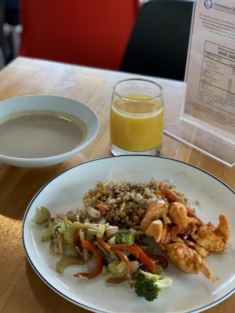 Fotografía de plato menú China del restaurante N Cocina y Nutrición