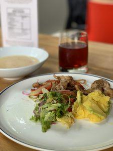 Fotografía de plato menú Perú del restaurante N Cocina y Nutrición
