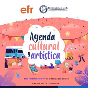 imagen promocional de la agenda cultural y artística
