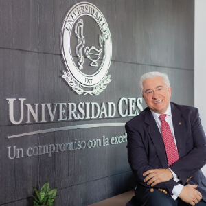 Fotografía: Rector de la Universidad CES