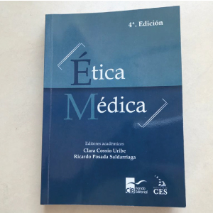 Fotografía del libro Ética Médica