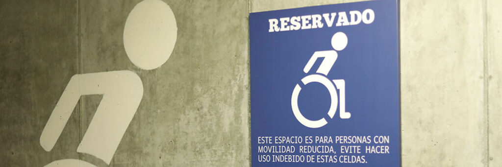 disabled people priority sign