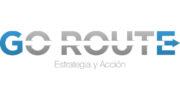 Logo Go-Route, estrategia y acción