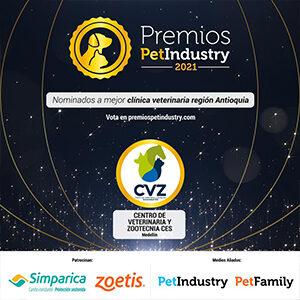 aviso de nominación a los premios petindustry