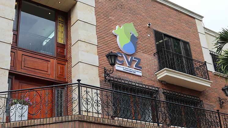 Foto fachada centro de veterinaria y zootecnia sede la frontera