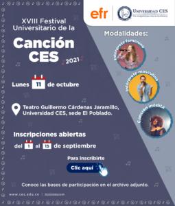 XVIII University Song Festival CES